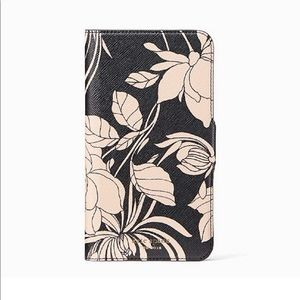 Kate Spade Gardenia Wrap Folio iPhone X/Xs Case